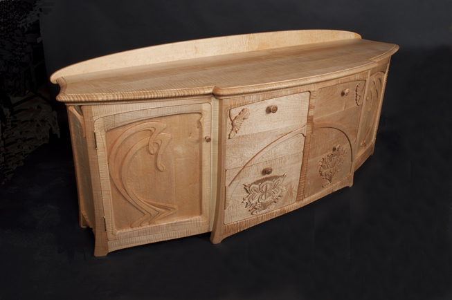Credenza Definition Furniture : Art nouveau furniture by william doub
