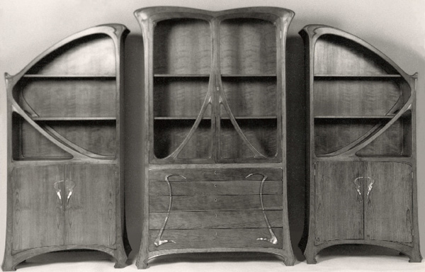 Art Nouveau BookcasesArt Nouveau Furniture By William Doub. Art Nouveau Furniture. Home Design Ideas
