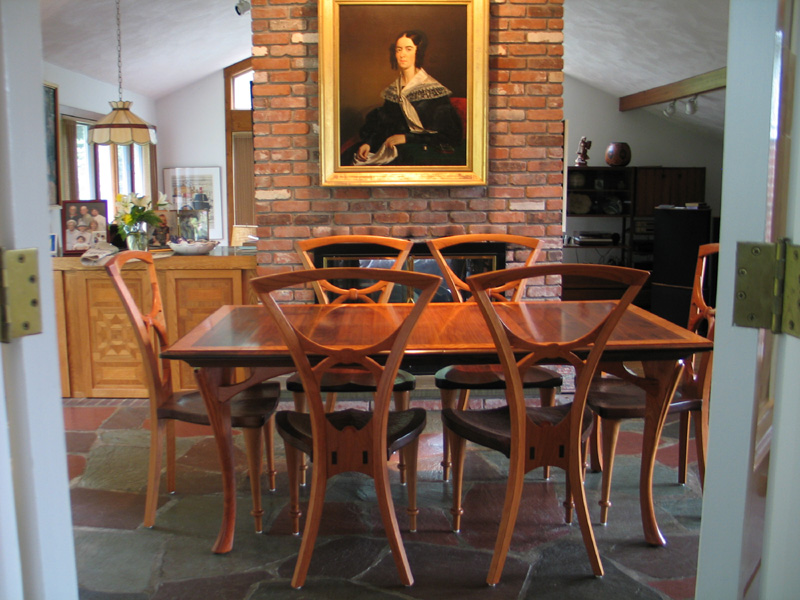 wayland dining set this art nouveau inspired dining room