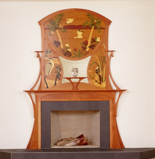Art Nouveau FireplaceArt Nouveau Furniture By William Doub. Art Nouveau Furniture. Home Design Ideas