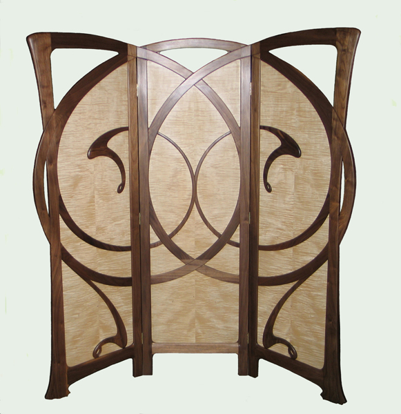 Art Nouveau ScreenArt Nouveau Furniture By William Doub. Art Nouveau Furniture. Home Design Ideas